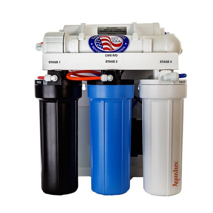 Aqualux 5-Stage Reverse Osmosis System with Permeate Pump