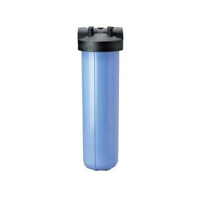 "Big Blue Water Filter Housing Kit 20"" Blue w 1"" Inlet"