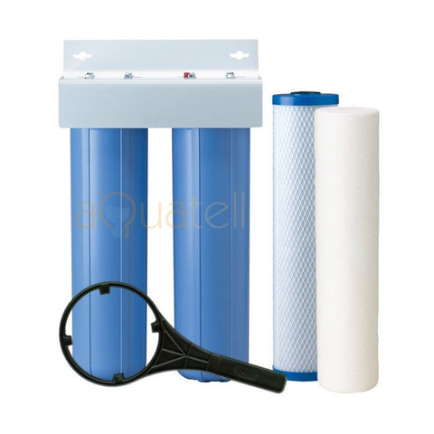 Dual Stage Max Flow Filter System