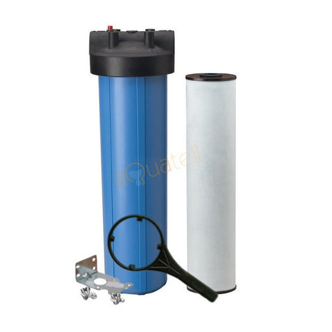 Max Flow Iron Cartridge Filter System