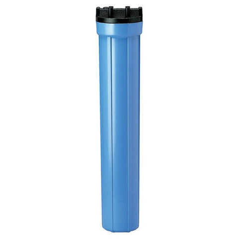 "Standard Water Filter Housing Kit 20"" Blue"