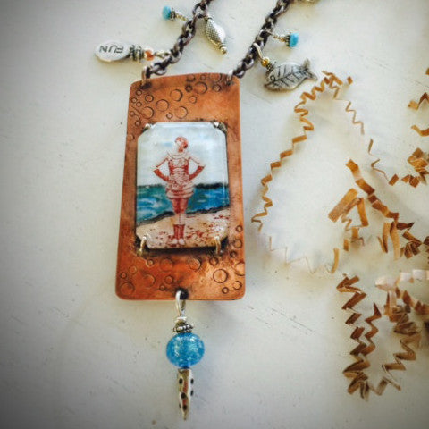 BY THE SEA NECKLACE - Stouffer Studios