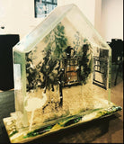 GAIL STOUFFER & ALICE BENVIE-GEBHART; THERE'S NO PLACE LIKE HOME; ALTERISTAS IN GLASS