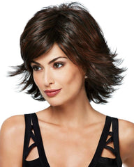 Allure Wavy Medium Shag Hairdo Wigs,R6/30H