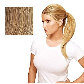 Hairdo 18 inch Simply Straight Pony Tru2Life Heat-Friendly Synthetic Ponytail Honey Ginger