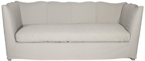 Zentique F058-3 E272 H001 Aragon Sofa, Limed Grey Oak