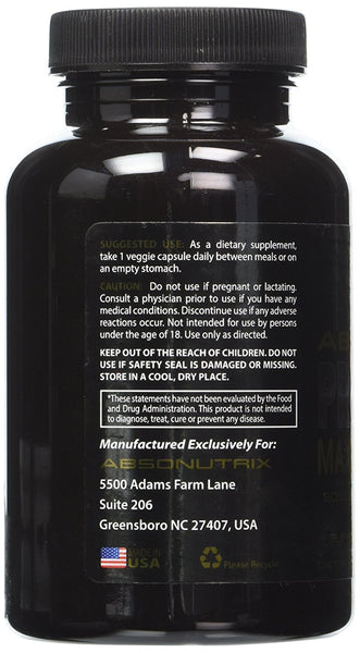 Absonutrix Probiotic Maximum Strength 50 Billion Per Capsule Multi-Strain - 100 Capsules