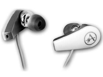 Andrea SUPERBEAM BUDS Earbuds 3D Surround Sound Built-in Microphone White SB205W