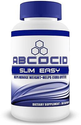 ABCOCID Slim Easy with Fucoxanthin, Green Tea Extract, Raspberry Ketone