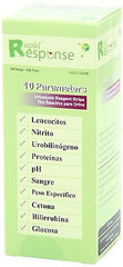 Rapid Response 10 Parameter 10SG Urinalysis Reagent Test Strips Urine Dipstick