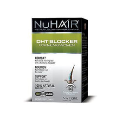NuHair DHT Blocker Hair Regrowth Formula Men & Women by Natrol