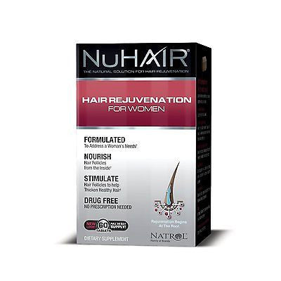 NuHair Hair Rejuvenation for Women Hair Regrowth by Natrol