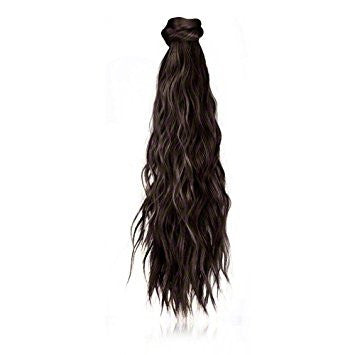 Ken Paves 18 Inch Beach Curl Pony 1 piece