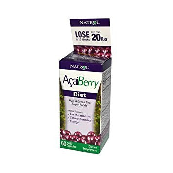 Natrol AcaiBerry Diet - 60 Capsules by Natrol