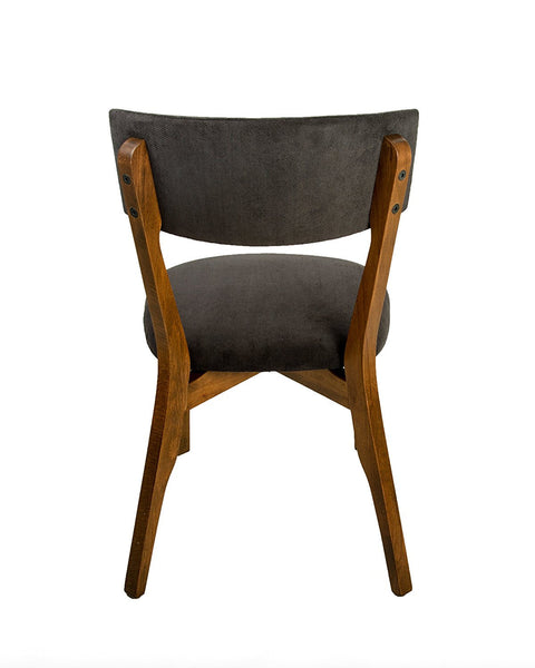 Tokyo Modern Wood Side Dining Chair - Walnut Legs (Set of 2)