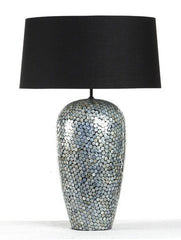 Zentique AD012 Petite Perla Table Lamp, 9 x 20 x 9 in.
