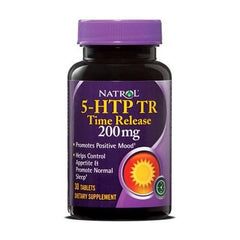 Natrol 5-HTP TR Time Release 200mg 30 Tabs
