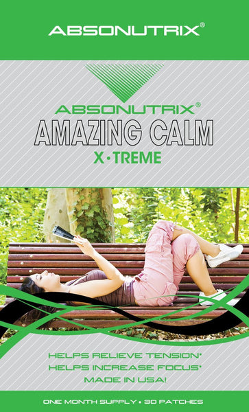 Absonutrix AMAZING CALM Xtreme Natural Sleep Helps Relax  Tension 30 Patches