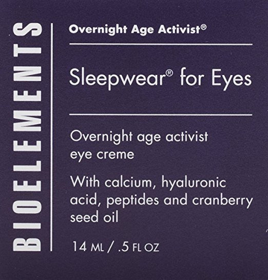 Bioelements Sleepwear for Eyes, 0.5-Ounce