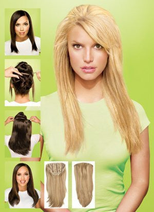 Clip-In 23 Inch Wavy Hair Extension Buttered Toast by HairDo