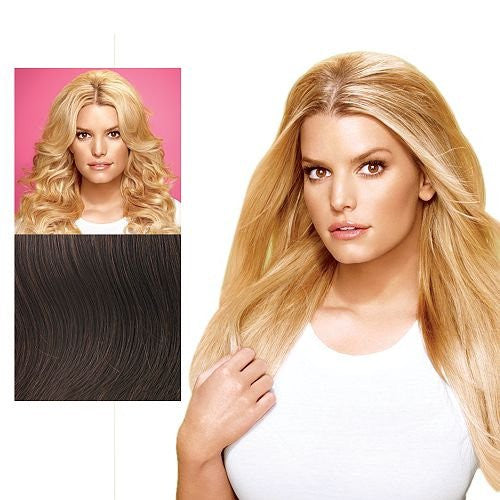 "21""Jessica Simpson BUMP UP THE VOLUME Extension Clip R29S Glazed Strawberry"