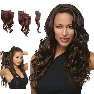 Hairdo 8 Piece Wavy 18 Inch Extensions (H8PCXW) (Glazed Strawberry (R29S))