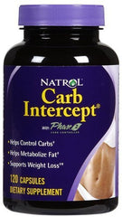 Natrol Carb Intercept With Phase 2 120 Cap ( Multi-Pack) by Natrol