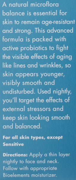 Bioelements Probiotic Anti-Aging Serum 1 oz (29 ml)