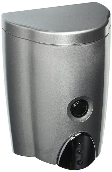 Dispenser Smart for Kitchen and Bathroom Soap/Shampoo/Lotion/Conditioners Silver Gray