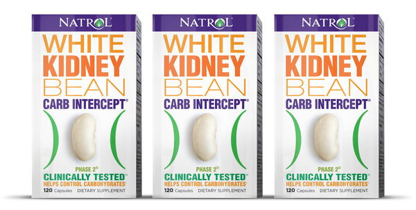 Natrol Carb Intercept Phase 2 White Kidney Bean 120 Caps