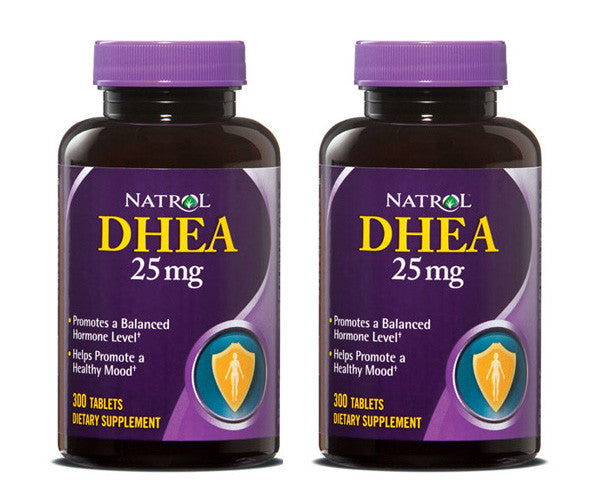 Natrol Dhea 25mg 300 Tablets