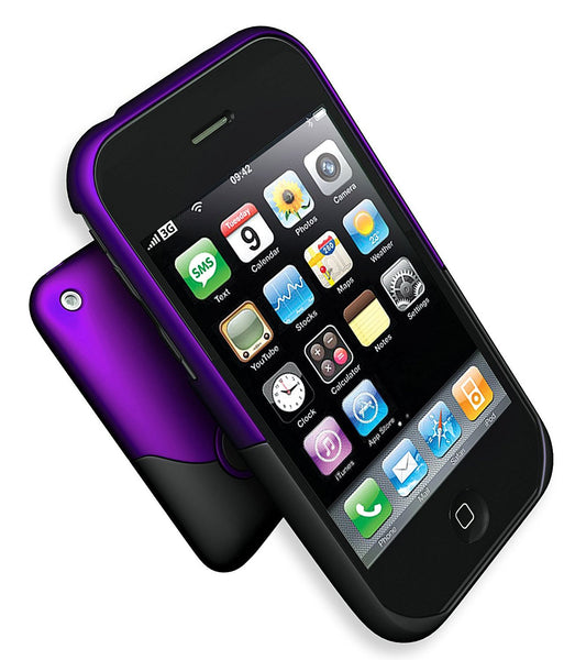 iFrogz Luxe Case for iPhone 3G 3GS (Purple/Black)