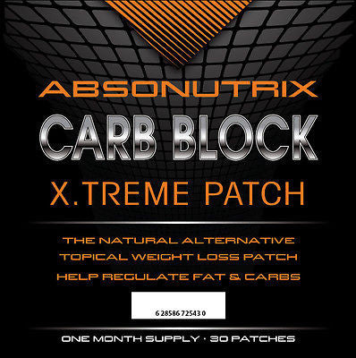 Absonutrix Carb Blocker Weight Loss Patch