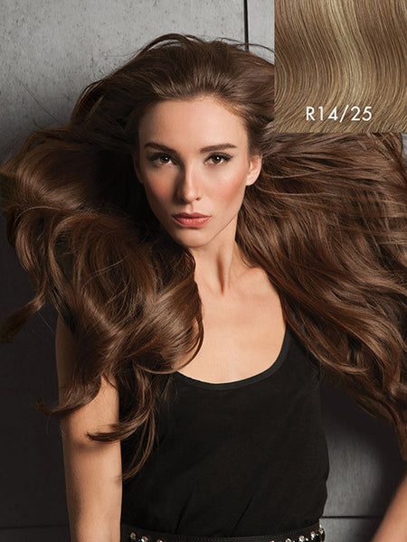 "Hairdo 20"" Invisible Extension Clip Free Halo Hair Extension"