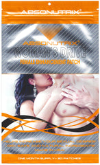 Absonutrix WOMAN'S DRIVE Female Enhancement Patch 30 Patches