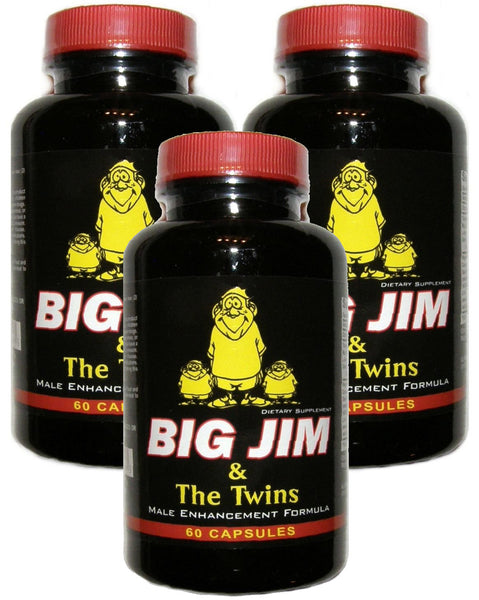 Big Jim and the Twins Male Sexual Enhancement Formula Huge Penis Enlargement