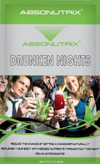 Absonutrix DRUNKEN NIGHTS Hangover Helps Prevent Headache Fatigue 30 Patches
