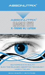 Absonutrix EAGLE EYE with Lutein Zeaxathin for Healthy Eyes Vision 30 Patches