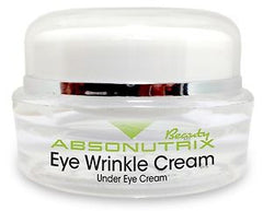 Absonutrix Eye Wrinkle Cream Under Eye Cream For Younger Looking Brighter Eyes