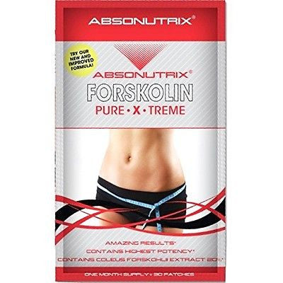 Absonutrix FORSKOLIN Pure Xtreme Weigh Loss Burn Fat 30 patches
