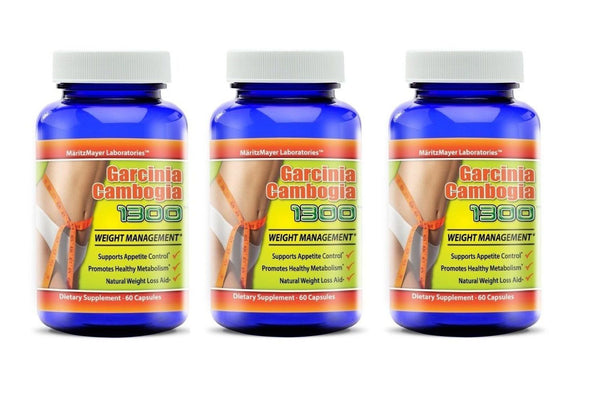 Garcinia Cambogia 1300 Extract 60% HCA Natural Weight Loss