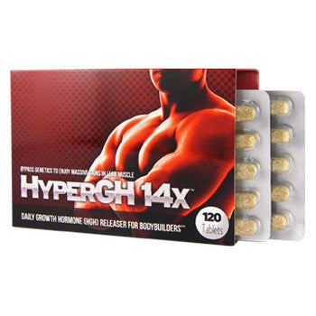HyperGH 14X Boost Sex Drive Strength Lean Hard Muscle 120 Tablets