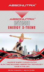 Absonutrix INTENSE Energy Xtreme Hours of Energy Green Tea Guarana 30 Patches