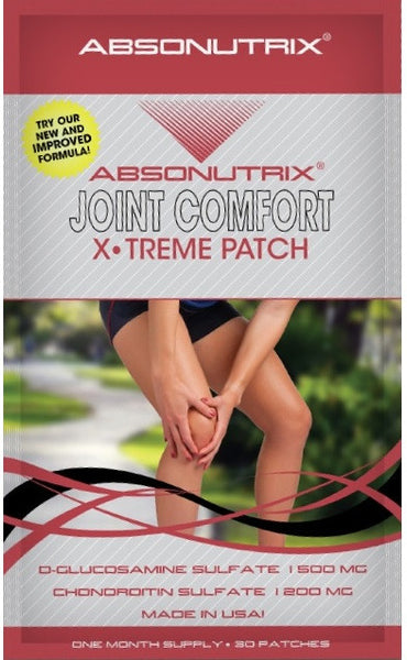 Absonutrix JOINT COMFORT XTreme 30 Patches New & Improved Formula!