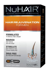 NuHair Hair Rejuvenation for Men Hair Regrowth by Natrol