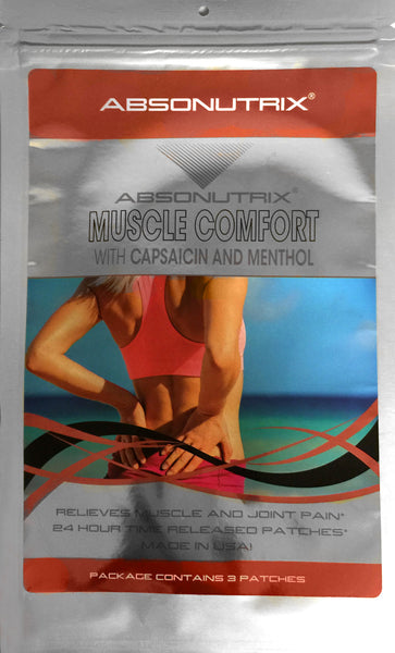 Absonutrix MUSCLE COMFORT with Capsaicin and Menthol 3 patches