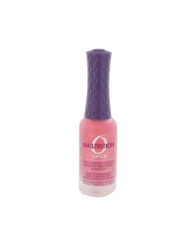 Orly NAILTRITION Strengthener Growth Support for Damaged Nails 0.3 oz (9 ml)