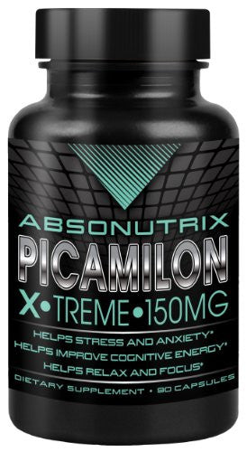 Absonutrix Picamilon Xtreme 150mg Reduce Stress & Anxiety