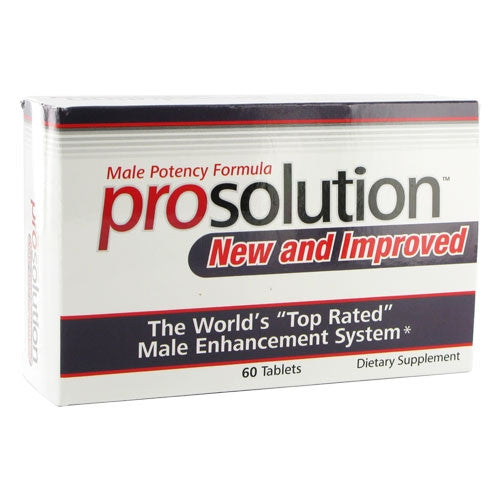 Prosolution Pills Male Enhancement Potency Formula