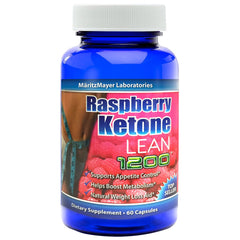 Raspberry Ketone Lean 1200mg Fat Burn Weight Loss 60 Caps